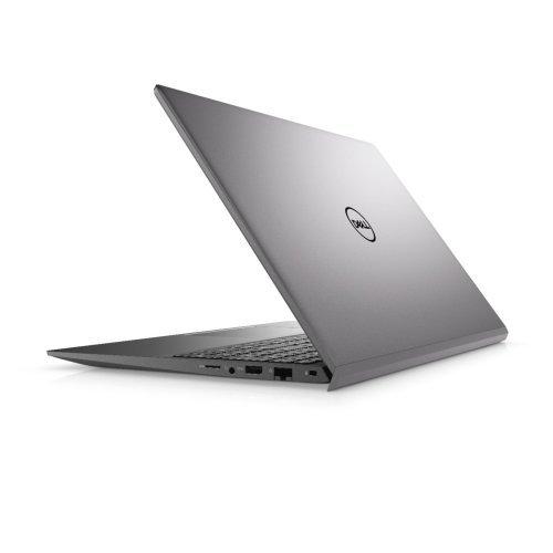 "Лаптоп Dell Vostro 15 5502, сив, 15.6"" (39.62см.) 1920x1080 (Full HD) без отблясъци 60Hz, Процесор Intel Core i5-1135G7 (4x/8x), Видео Intel Iris Xe Graphics, 8GB DDR4 RAM, 512GB SSD диск, без опт. у-во, Windows 10 Pro 64 English ОС, Клавиатура- светеща (снимка 1)"