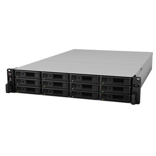 NAS устройство 180/96-bay Synology NAS server for Large Scale Business(12 bays on base, expandable to 180/96 with 7x RX1217sas/RX2417sas), Rackmount SA3400 (снимка 1)