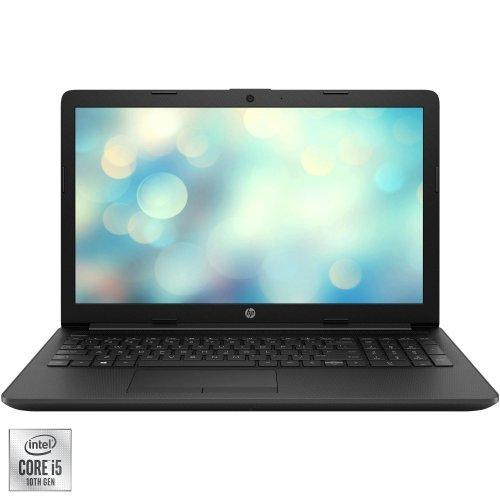 """Лаптоп HP 15-da2046nq, черен, 15.6"""" (39.62см.) 1920x1080 (Full HD) без отблясъци IPS, Процесор Intel Core i5-10210U (4x/8x), Видео Intel UHD, 4GB DDR4 RAM, 256GB SSD диск, без опт. у-во, FreeDOS ОС, Клавиатура- с БДС (снимка 1)"""