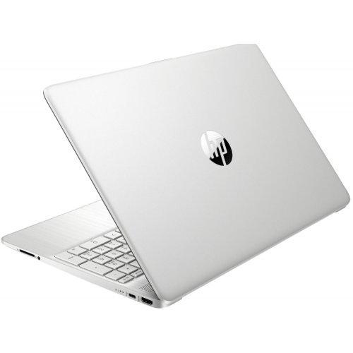 "Лаптоп HP 15s-eq2008nu, сив, 15.6"" (39.62см.) 1920x1080 (Full HD) без отблясъци 60Hz IPS, Процесор AMD Ryzen 5 5500U (6x/12x/7x), Видео AMD Radeon Graphics, 8GB DDR4 RAM, 1TB SSD диск, без опт. у-во, FreeDOS ОС, Клавиатура- светеща с БДС (снимка 1)"