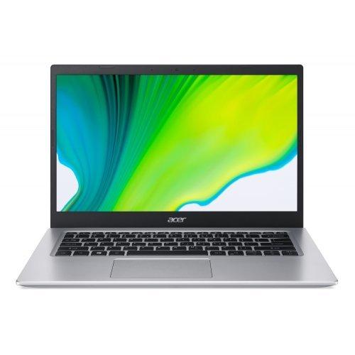 """Лаптоп Acer Aspire 5 A514-54-33NQ, сребрист, 14.0"""" (35.56см.) 1920x1080 (Full HD) без отблясъци 60Hz IPS, Процесор Intel Core i3-1115G4 (2x/4x), Видео Intel UMA Graphics, 8GB DDR4 RAM, 512GB SSD диск, без опт. у-во, Linux ОС, Клавиатура- светеща с БДС (снимка 1)"""