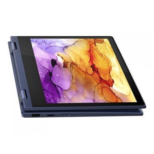 "Лаптоп-таблет Lenovo Laptop-Tablet IdeaPad Flex 3 11ADA05 82G4 2-в-1, 2 в 1, син, 11.6"" (29.46см.) 1920x1080 (Full HD) лъскав IPS тъч, Процесор AMD 3020e (2x/2x/3x), Видео AMD Radeon- 6 cores, 4GB DDR4 RAM, 64GB eMMC диск, без опт. у-во, Windows 10 S ОС, Клавиатура- с БДС (снимка 1)"