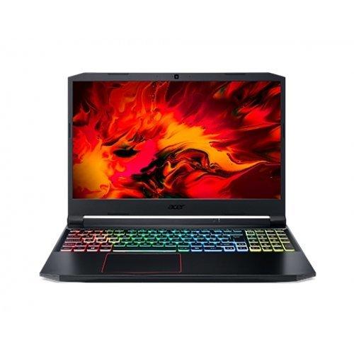 """Лаптоп Acer Aspire Nitro 5 AN515-55-76E7, черен, 15.6"""" (39.62см.) 1920x1080 (Full HD) без отблясъци IPS, Процесор Intel Core i7-10750H (6x/12x), Видео nVidia GeForce RTX 3060/ 6GB GDDR6, 8GB DDR4 RAM, 1TB SSD диск, без опт. у-во, UEFI Shell ОС, Клавиатура- светеща (снимка 1)"""