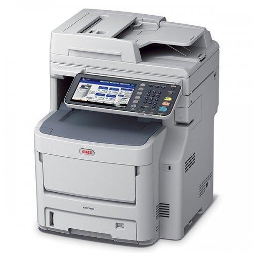 Принтер Мултифункционално Устройство OKI MC760dn A4 Цветно (снимка 1)