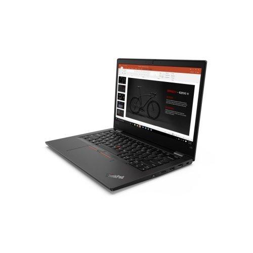 "Лаптоп Lenovo ThinkPad L13 G2, черен, 13.3"" (33.78см.) 1920x1080 (Full HD) без отблясъци 60Hz IPS, Процесор Intel Core i3-1115G4 (2x/4x), Видео Intel UHD, 8GB DDR4 RAM, 256GB SSD диск, без опт. у-во, Windows 10 Pro 64 ОС, Клавиатура- светеща с БДС (снимка 1)"
