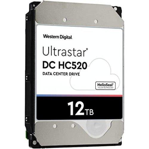 Твърд диск 12TB 256MB 7200RPM SATA ULTRA 512E ISE DC HC520 HDD Server WD/HGST ULTRASTAR  3.5in, SKU:0F30144 (снимка 1)