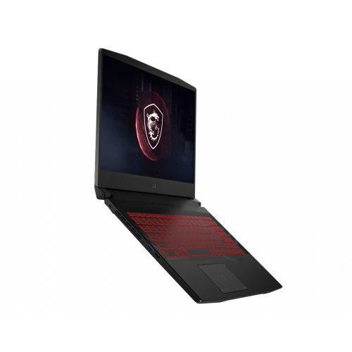 "Лаптоп MSI PULSE GL66 11UEK-085XBG-GB71180H16GXXDXX, сив, 15.6"" (39.62см.) 1920x1080 (Full HD) 144Hz IPS, Процесор Intel Core i7-11800H (8x/16x), Видео nVidia GeForce RTX 3060/ 6GB GDDR6, 16GB DDR4 RAM, 1TB SSD диск, без опт. у-во, без ОС, Клавиатура- светеща с БДС (снимка 1)"