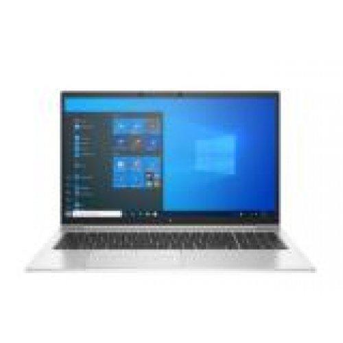 """Лаптоп HP EliteBook 850 G8, сребрист, 15.6"""" (39.62см.) 1920x1080 (Full HD) без отблясъци 60Hz IPS, Процесор Intel Core i7-1165G7 (4x/8x), Видео nVidia GeForce MX450/ 2GB GDDR5, 16GB DDR4 RAM, 512GB SSD диск, без опт. у-во, Windows 10 Pro 64 ОС, Клавиатура- светеща с БДС (снимка 1)"""