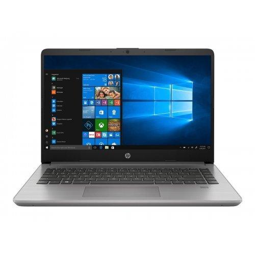 """Лаптоп HP 340 G7, сребрист, 14.0"""" (35.56см.) 1920x1080 (Full HD), Процесор Intel Core i5-1035G1 (4x/8x), Видео Intel UHD Graphics, 16GB DDR4 RAM, 512GB SSD диск, без опт. у-во, Windows 10 Pro 64 (при поискване) ОС, Клавиатура- с БДС (снимка 1)"""