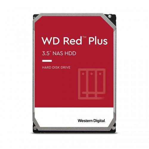 """Твърд диск Western Digital 6TB Red Plus NAS 3.5"""" 128MB 7200RPM (снимка 1)"""