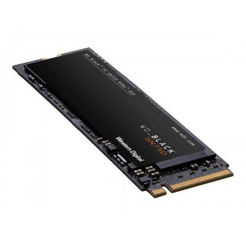SSD Western Digital 2TB Black SSD SN750 Gaming PCIe Gen3 8Gb/s M.2 High-Performance NVMe SSD internal single-packed (снимка 1)