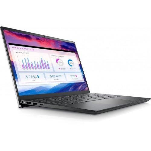 "Лаптоп Dell Vostro 14 5410, Сив, 14.0"" (35.56см.) 1920x1080 (Full HD) без отблясъци 60Hz WVA, Процесор Intel Core i5-11300H (4x/8x), Видео Intel Iris Xe Graphics, 8GB DDR4 RAM, 256GB SSD диск, без опт. у-во, Linux Ubuntu ОС, Клавиатура- светеща (снимка 1)"