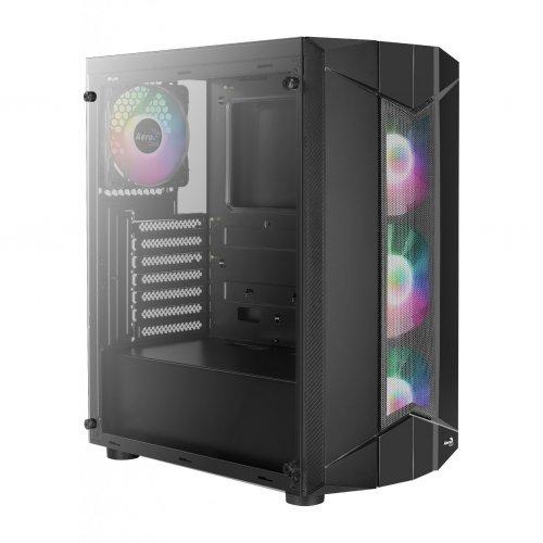 Компютърна кутия AeroCool Case ATX - Sentinel BG - 4 Fans, A-RGB, Tempered Glass - ACCM-PB16043.11 (снимка 1)