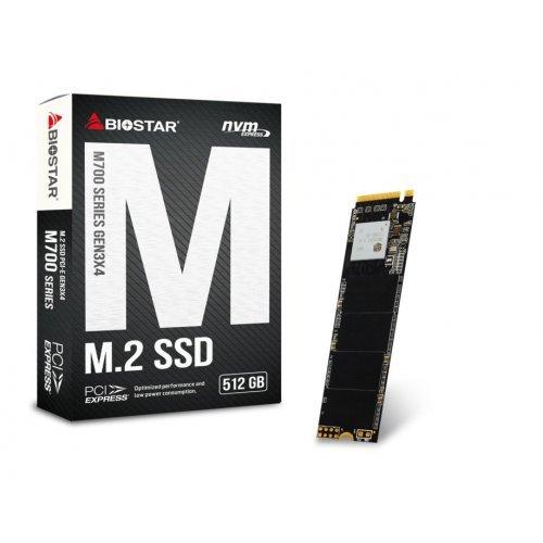 SSD Biostar 512GB M.2 PCI Express - M700-512GB (снимка 1)