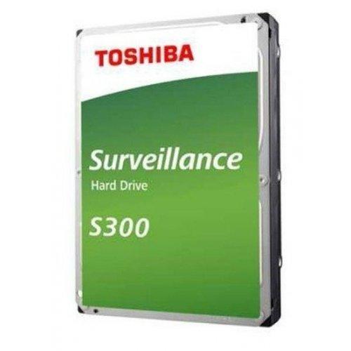 Твърд диск Toshiba 6TB S300 Surveillance Hard Drive 5400 rpm 128MB (снимка 1)