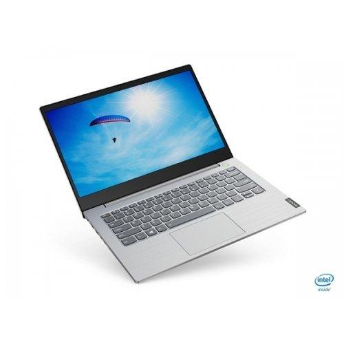 "Лаптоп Lenovo ThinkBook 14, сребрист, 14.0"" (35.56см.) 1920x1080 (Full HD) без отблясъци 60Hz IPS, Процесор AMD Ryzen 3 4300U (4x/4x), Видео AMD Radeon Graphics, 8GB DDR4 RAM, 256GB SSD диск, без опт. у-во, Windows 10 Pro 64 ОС, Клавиатура- светеща с БДС (снимка 1)"