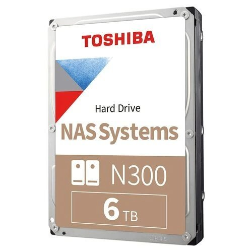 Твърд диск Toshiba N300 NAS - High-Reliability Hard Drive 6TB BULK (снимка 1)