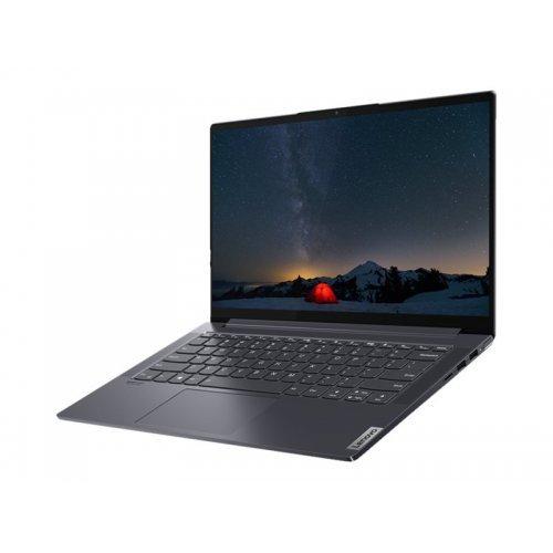 "Лаптоп Lenovo Yoga Slim 7 14ARE05, лилав, 14.0"" (35.56см.) 1920x1080 (Full HD) без отблясъци IPS, Процесор AMD Ryzen 5 4500U (6x/6x), Видео AMD Radeon Graphics, 8GB LPDDR4X RAM, 512GB SSD диск, без опт. у-во, Windows 10 64 English ОС, Клавиатура- светеща с БДС (снимка 1)"