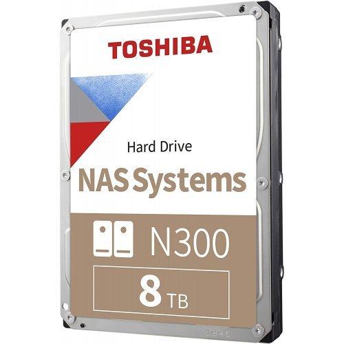 """Твърд диск Toshiba 8TB N300 3,5"""" NAS Hard Drive (256MB)  (снимка 1)"""