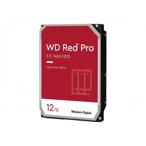 Твърд диск WD Red Pro 12TB SATA 6Gb/s 256MB Cache Internal 3.5inch 24x7 7200rpm optimized for SOHO Nas Systems 1-24 Bay HDD Bulk (снимка 1)