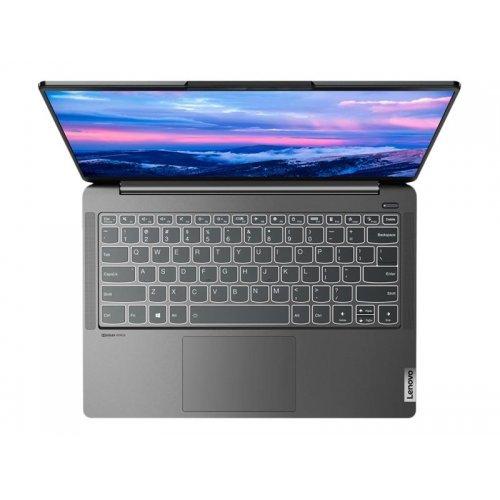 "Лаптоп Lenovo IdeaPad 5 Pro 14ACN6 82L7 - Ryzen 7 5800U / 1.9 GHz - 16 GB RAM - 512 GB SSD NVMe - 14"" IPS 2880 x 1800 (2.8K) @ 90 Hz - GF MX450 / Radeon Graphics - Wi-Fi 6, Bluetooth - storm grey - kbd: Bulgarian (снимка 1)"