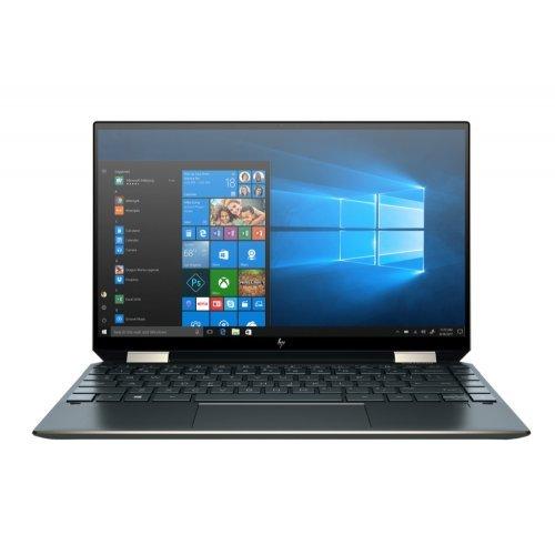 "Лаптоп HP Spectre x360 13-aw2000nu Poseidon Blue, Core i7 1165G7 quad(2.8Ghz, up to 4.7GH/12MB/4C), 13.3"" FHD IPS BV Touch+WebCam, 16GB DDR4, 512GB SSD, FPR, WiFi a/x + BT, Backlit Kbd, 4Cell Batt, Win 10 64 bit+Zenvo Pen P+HP Travel USB-C Multi Port Hub (снимка 1)"