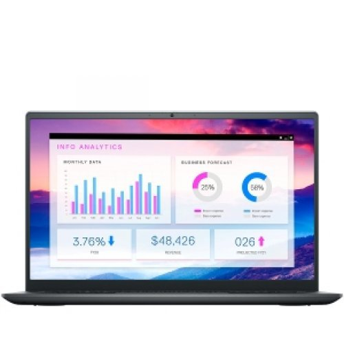 "Лаптоп Dell Vostro 14 5410, сив, 14.0"" (35.56см.) 1920x1080 (Full HD) без отблясъци 60Hz WVA, Процесор Intel Core i7-11370H (4x/8x), Видео nVidia GeForce MX450/ 2GB GDDR5, 8GB DDR4 RAM, 512GB SSD диск, без опт. у-во, Linux Ubuntu ОС, Клавиатура- светеща (снимка 1)"