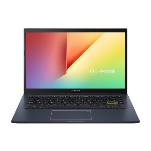 """Лаптоп Asus VivoBook 14 X413JA-WB311T, Intel Core i3-1005G1(4M Cache, up to 3.4 GHz), 14"""" FHD IPS, (1920x1080)AG, DDR4 8GB(ON BD.), SSD 256G PCIE G3X2(1 slot free), TPM, Win 10 64 bit, Black, US KBD (снимка 1)"""