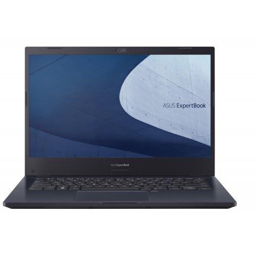 "Лаптоп Asus ExperBook P2 P2451FA-EK0111R, Intel Core i5-10210U 1.6 GHz (6M Cache, up to 4.2 GHz, 4 cores), 14"" FHD(1920x1080), 8GB DDR4(1 slot free), PCIEG3x2 256GB SSD,VGA,HDMI,2xUSB TypeC,RJ45, Win 10 Pro 64 bit, Illum.Kbd, Star Black (снимка 1)"