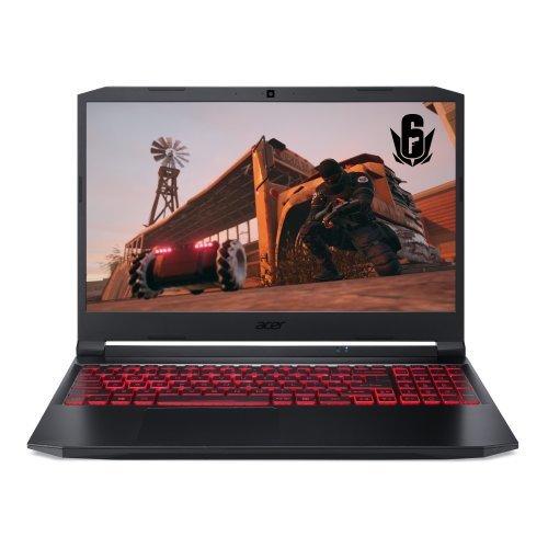 "Лаптоп Acer Nitro 5, AN515-57-70QZ, Intel Core  i7-11800H, 15.6"" FHD (1920x1080) IPS 144Hz, HD Cam, 8GB DDR4 3200 Mhz, 512GB SSD PCIe, M.2 PCIe free, HDD upgrade kit, NVIDIA GeForce RTX 3050Ti 4GB GDDR6 , Intel Killer Wi-Fi 6 AX1650i, BT 5.2, Backlit Kbd, No OS (снимка 1)"