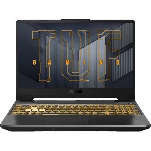 "Лаптоп ASUS TUF FX506HE-HN009, Intel i7-11800H 4.60 GHz, 15.6"" FHD IPS AG 144Hz, 16GB DDR4 3200Mhz, 1TB m.2 NVME, GeForce RTX 3050Ti 4GB GDDR6, WiFi 6, RGB Kbd (снимка 1)"