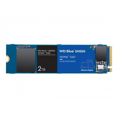 SSD Western Digital 2TB Blue SSD SN550 NVMe 2TB M.2 2280 PCIe Gen3 8Gb/s internal single-packed (снимка 1)