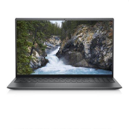 "Лаптоп Dell Vostro 5510, сив, 15.6"" (39.62см.) 1920x1080 (Full HD) без отблясъци 60Hz, Процесор Intel Core i5-11300H (4x/8x), Видео nVidia GeForce MX450/ 2GB GDDR6, 8GB DDR4 RAM, 512GB SSD диск, без опт. у-во, Ubuntu Linux 20.04 ОС, Клавиатура- светеща (снимка 1)"