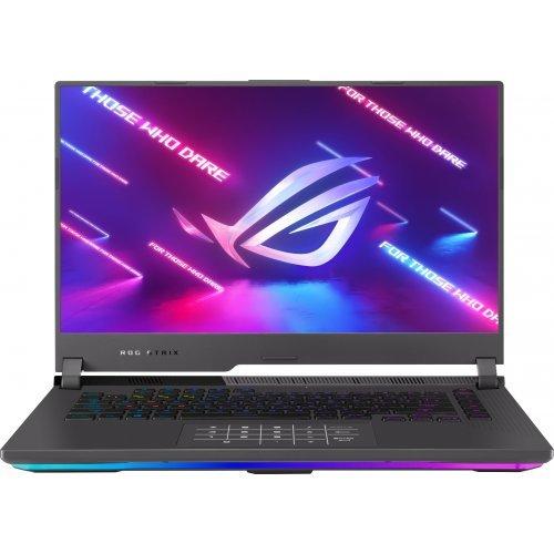 """Лаптоп Asus ROG STRIX G15 G513QR-HQ024T, черен, 15.6"""" (39.62см.) 2560x1440 (WQHD 2K) без отблясъци IPS, Процесор AMD Ryzen 7 5800H (8x/16x/8x), Видео nVidia GeForce RTX 3070 8GB GDDR6, 16GB DDR4 RAM, 1TB SSD диск, без опт. у-во, Windows 10 ОС (снимка 1)"""