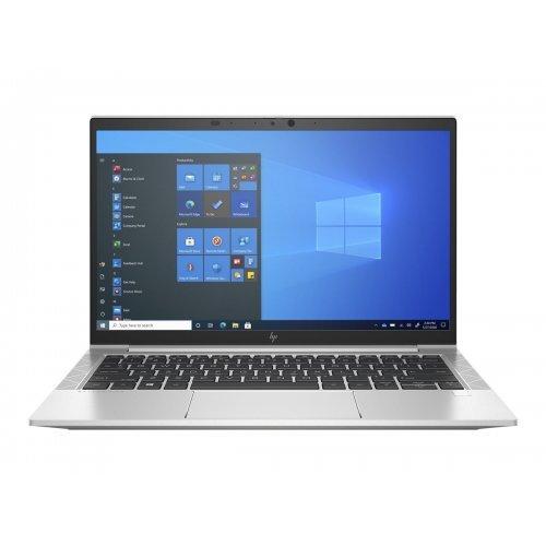 "Лаптоп HP EliteBook 830 G8, сребрист, 13.3"" (33.78см.) 1920x1080 (Full HD) 60Hz IPS, Процесор Intel Core i7-1165G7 (4x/8x), Видео Intel Iris Xe Graphics, 16GB DDR4 RAM, 512GB SSD диск, без опт. у-во, Windows 10 Pro 64 English ОС, Клавиатура- светеща (снимка 1)"