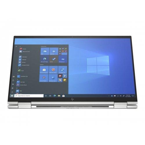 "Лаптоп HP EliteBook x360 1040 G8, сребрист, 14.0"" (35.56см.) 1920x1080 (Full HD) без отблясъци 60Hz IPS, Процесор Intel Core i7-1165G7 (4x/8x), Видео Intel Iris Xe Graphics, 16GB LPDDR4X RAM, 512GB SSD диск, без опт. у-во, Windows 10 Pro 64 (при поискване) ОС, Клавиатура- светеща с БДС (снимка 1)"