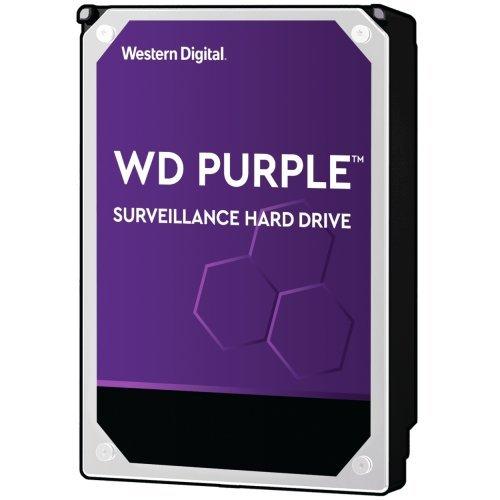 """Твърд диск Western Digital 14TB Purple Surveillance, 5400rpm SATA 6Gb/s 512MB cache 3,5"""" (снимка 1)"""