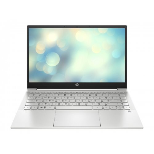 "Лаптоп HP Pavilion, сребрист, 14.0"" (35.56см.) 1920x1080 (Full HD) IPS, Процесор Intel Core i7-1165G7 (4x/8x), Видео Intel Iris Xe Graphics, 8GB DDR4 RAM, 512GB SSD диск, без опт. у-во, FreeDOS ОС, Клавиатура- светеща с БДС (снимка 1)"