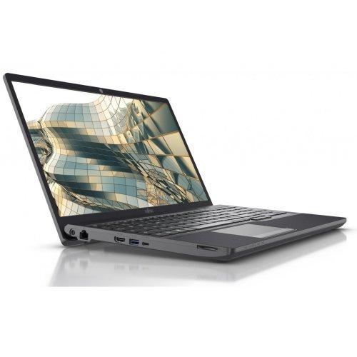 """Лаптоп Fujitsu LIFEBOOK A3510, черен, 15.6"""" (39.62см.) 1920x1080 (Full HD), Процесор Intel Core i5-1035G1 (4x/8x), Видео Intel UHD, 16GB DDR4 RAM, 256GB SSD и 500GB HDD диск, DVDRW, Windows 10 Pro 64 ОС, Клавиатура- с БДС (снимка 1)"""
