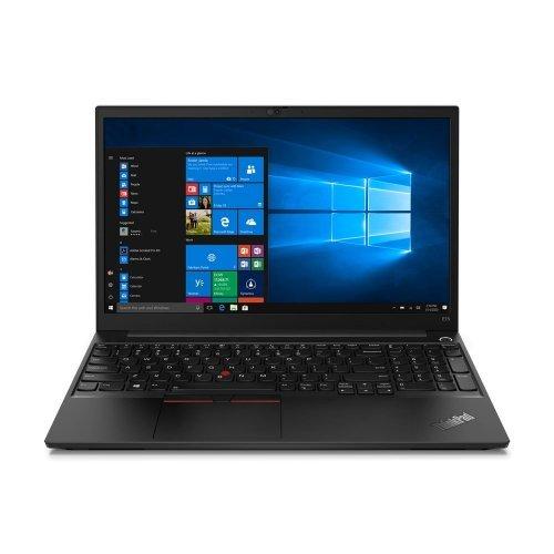 "Лаптоп Lenovo ThinkPad E15 G2, черен, 15.6"" (39.62см.) 1920x1080 (Full HD) без отблясъци IPS, Процесор Intel Core i5-1135G7 (4x/8x), Видео Intel Iris Xe Graphics, 8GB DDR4 RAM, 256GB SSD диск, без опт. у-во, Windows 10 Pro 64 ОС, Клавиатура- светеща с БДС (снимка 1)"