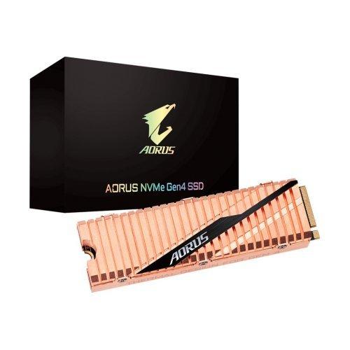 SSD GIGABYTE 500GB AORUS NVMe Gen4 SSD  (снимка 1)