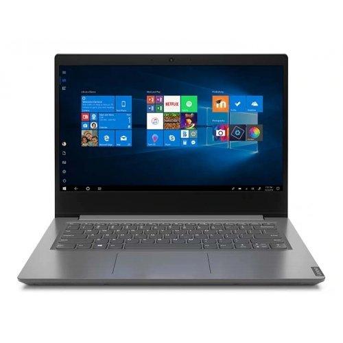 """Лаптоп Lenovo V14 IGL, сив, 14.0"""" (35.56см.) 1920x1080 (Full HD) без отблясъци 60Hz, Процесор Intel Celeron N4020 (2x/2x), Видео Intel UHD 600 Gen 9, 4GB DDR4 RAM, 256GB SSD диск, без опт. у-во, FreeDOS ОС (снимка 1)"""