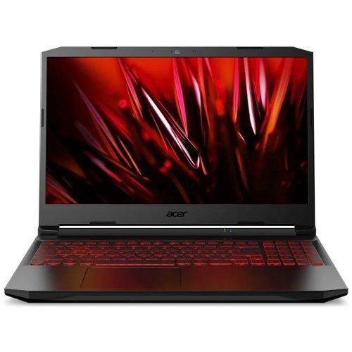 "Лаптоп Acer Nitro 5 AN517-41-R8RQ, черен, 17.3"" (43.94см.) 2560x1440 (WQHD 2K) без отблясъци IPS, Процесор AMD Ryzen 9 5900HX (8x/16x), Видео nVidia GeForce RTX 3080/ 8GB GDDR6, 16GB DDR4 RAM, 1TB SSD диск, без опт. у-во, Linux ОС, Клавиатура- светеща (снимка 1)"