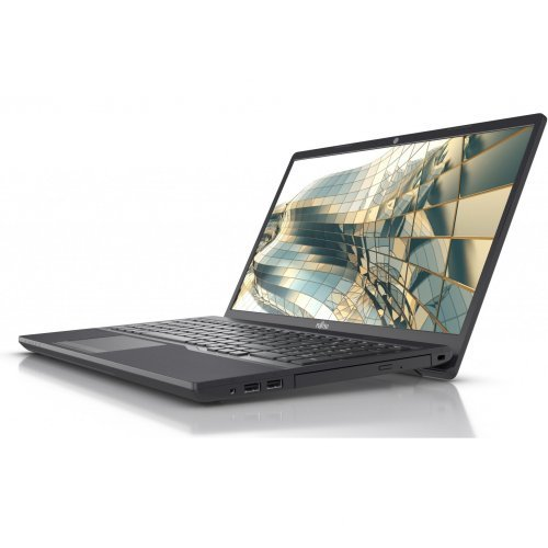 "Лаптоп Fujitsu Lifebook A3510, черен, 15.6"" 1920 x 1080/ Full HD, Процесор Intel Core i5-1035G1 (4x/8x), Видео Intel UHD вградено, 8GB DDR4 3200MHz RAM, 256GB M.2 PCIe NVMe SSD диск, без опт. у-во, без ОС (снимка 1)"