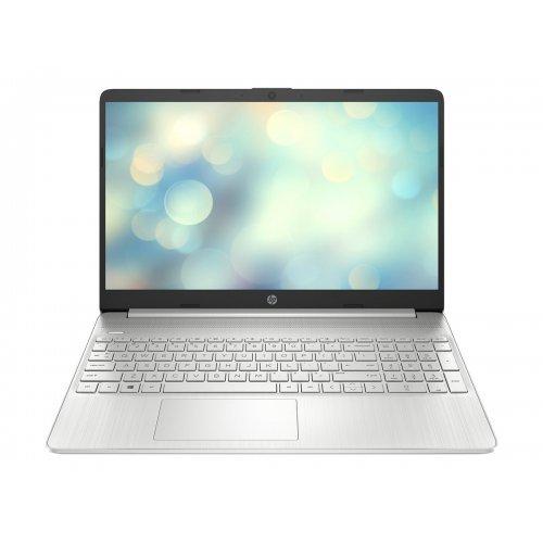 """Лаптоп HP 15s-fq3002nu, сребрист, 15.6"""" (39.62см.) 1920x1080 (Full HD) без отблясъци тъч, Процесор Intel Pentium N6000 (4x/4x), Видео Intel UHD Graphics, 8GB DDR4 RAM, 256GB SSD диск, без опт. у-во, FreeDOS ОС, Клавиатура- с БДС (снимка 1)"""
