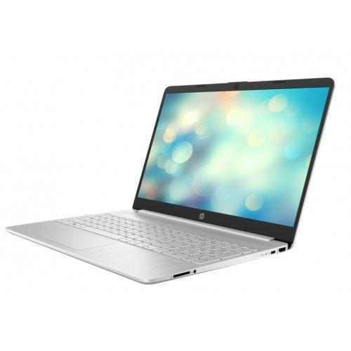 "Лаптоп HP 15s-fq3003nu, сребрист, 15.6"" (39.62см.) 1920x1080 (Full HD) без отблясъци 60Hz IPS, Процесор Intel Pentium N6000 (4x/4x), Видео Intel UHD, 8GB DDR4 RAM, 512GB SSD диск, без опт. у-во, FreeDOS ОС, Клавиатура- светеща (снимка 1)"