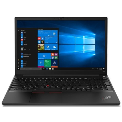 "Лаптоп Lenovo ThinkPad E15 G2, черен, 15.6"" (39.62см.) 1920x1080 (Full HD) без отблясъци 60Hz IPS, Процесор Intel Core i3-1115G4 (2x/4x), Видео Intel UHD Graphics, 8GB DDR4 RAM, 256GB SSD диск, без опт. у-во, FreeDOS ОС, Клавиатура- светеща (снимка 1)"