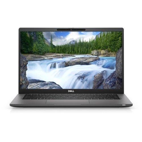 "Лаптоп Dell Latitude 7420, черен, 14.0"" (35.56см.) 1920x1080 (Full HD) без отблясъци 60Hz, Процесор Intel Core i5-1135G7 (4x/8x), Видео Intel Iris Xe Graphics, 8GB DDR4 RAM, 256GB SSD диск, без опт. у-во, Windows 10 Pro 64 English ОС, Клавиатура- светеща (снимка 1)"