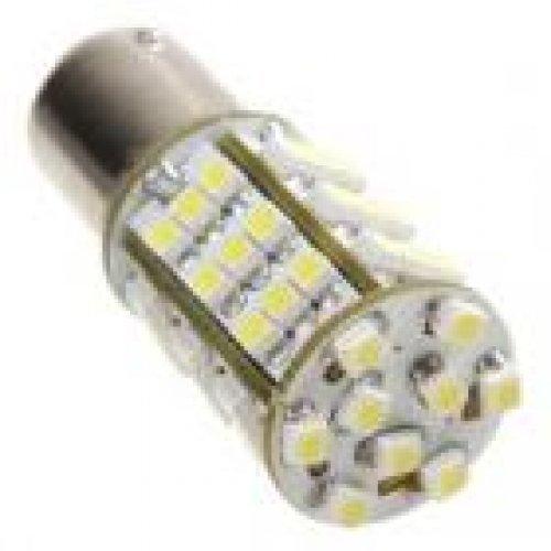 Авто крушка LED 1157 54 x 3528 SMD две светлини. Цена за брой (снимка 1)