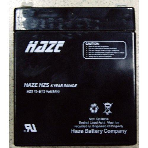 Батерия 12V/5Ah Haze AGM (снимка 1)